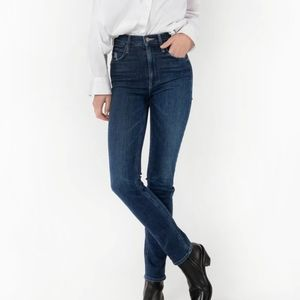 NWT~ MOTHER The Dazzler Hoover Skinny Jeans